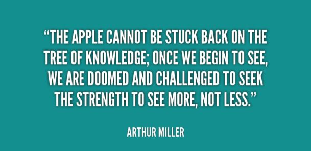 the inspiration from the life and literary works of arthur miller Arthur miller (1915-2005) was born in new york city and studied at the university of michigan his plays include the man who had all the luck (1944), all my sons (1947), death of a salesman (1949), the crucible (1953), a view from the bridge and a memory of two mondays (1955), after the fall (1964), incident at vichy (1964), the price (1968), the creation of the world and other business (1972.