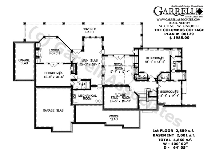 Pin by jodeen swan on floor plans 1 pinterest for Cottage house plans with basement