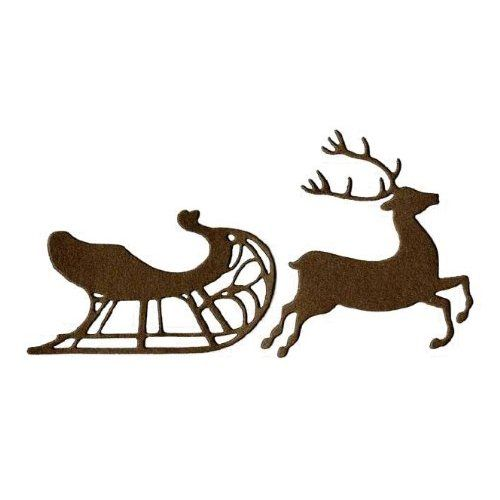 Reindeer Cut Out Templates | ... Crafts - Die Cutting Template ...