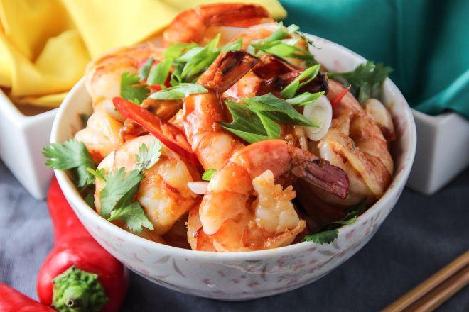 glazed shrimp shrimp orange juice brown sugar soy sauce ginger orange ...