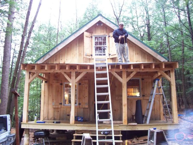 20x24 cabin with porch joy studio design gallery best Camp designs