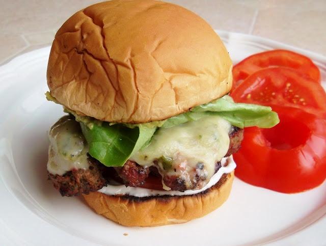 Green-Chile Cheeseburgers. | Sandwiches | Pinterest