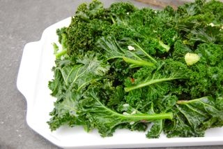 Sauteed Kale with Garlic | Eating To Live/ and Cancer | Pinterest