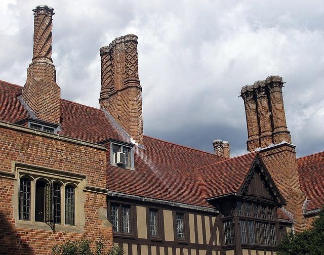 Best Tudor Roof Chimneys The House Pinterest 400 x 300