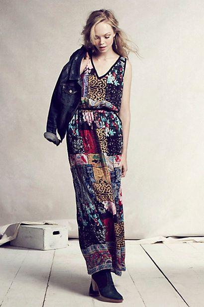 Boheme Maxi Dress #anthropologie