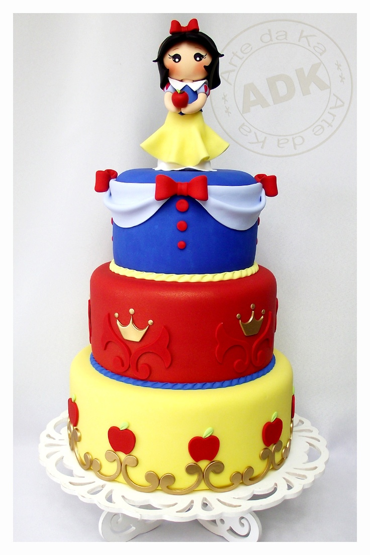Snow White Cake amp Cupcake Decorating Ideas Pinterest