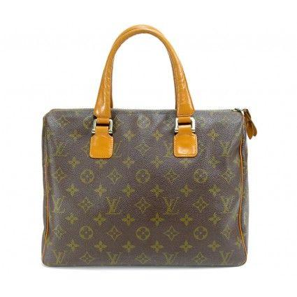 Vintage Louis Vuitton Monogram Speedy Bag with Rare Leather Interior - 425 x 425  21kb  jpg