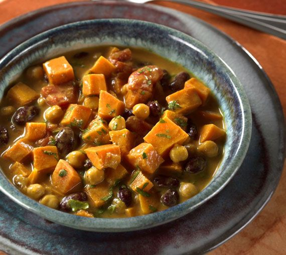 Curried Sweet Potato and Peanut Stew