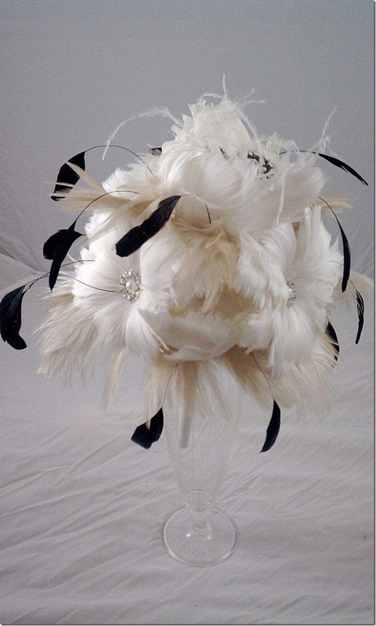 Fun feather centerpieces pinterest