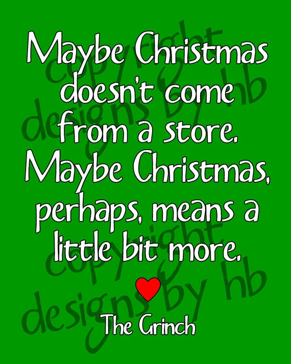 Grinch Print | Makes You Think... | Pinterest