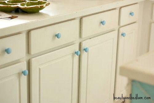 Paint Kitchen Cabinet Knobs
