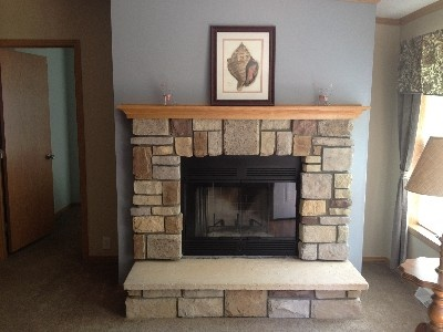Fireplace With Raised Hearth Mom Dad 39 S New House Pinterest