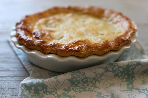 Double Crust Chicken Pot Pie | Things to Cook | Pinterest