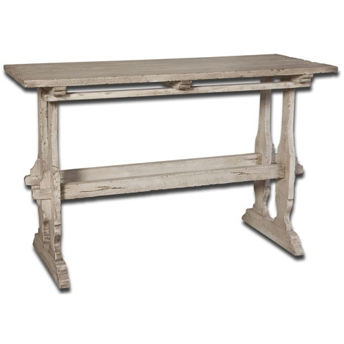 White Washed Mango Wood DIY Furniture Makeover