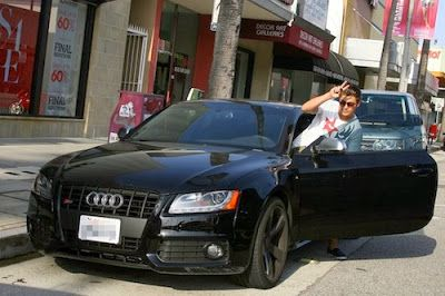Zac Efron picked this Audi S5 for his new ride. Pretty popular ...