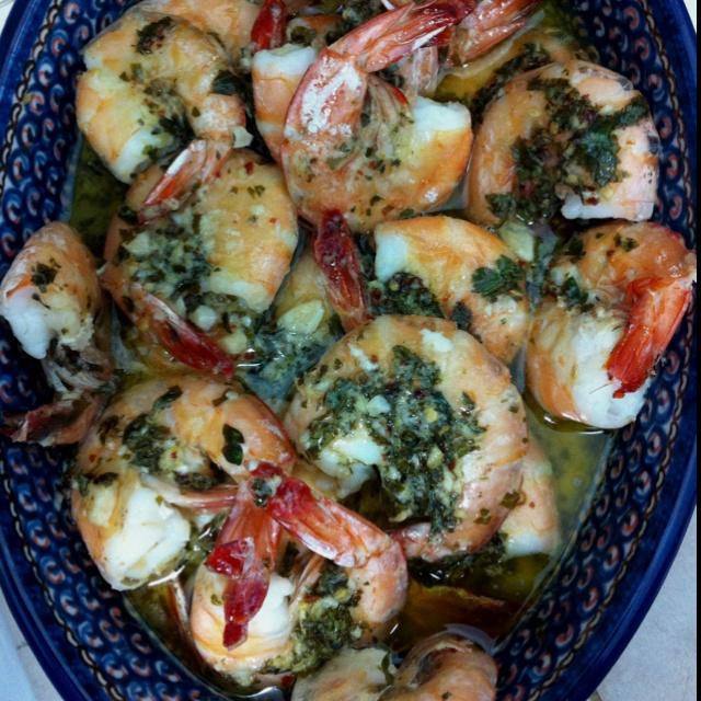 Spicy Lemon Garlic Shrimp! | eat your heart out