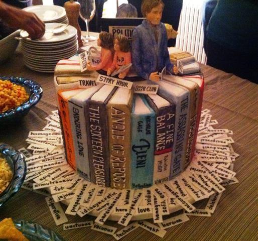 Cake Designs For Lovers : books lovers cake Tortas Pinterest