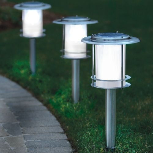 solar driveway lighting home ideas for the yard pinterest. Black Bedroom Furniture Sets. Home Design Ideas