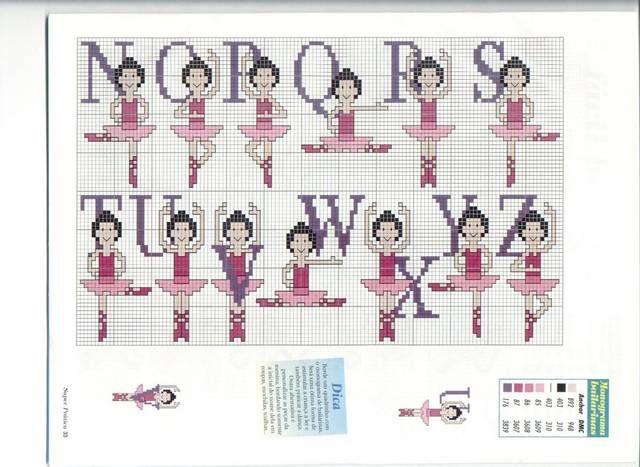 alfabeto ballerina 2