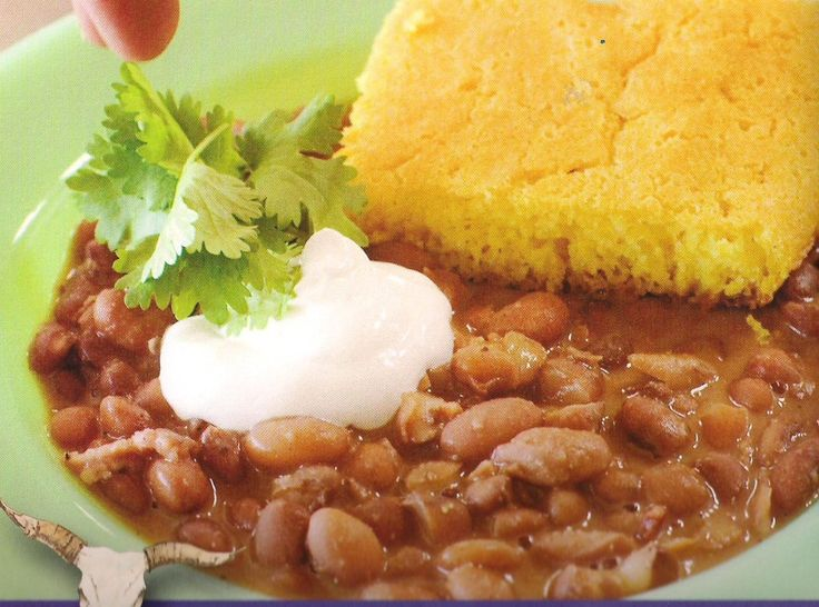 Beans and Cornbread | yummmyy | Pinterest