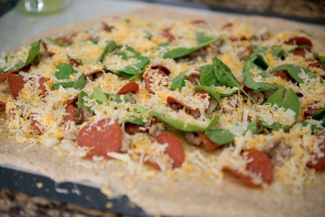 Domestic Fashionista: Lean Pepperoni and Sausage Stromboli Recipe