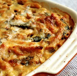 Baked Penne with Squash and Meatballs | AllFreeCasseroleRecipes.com ...