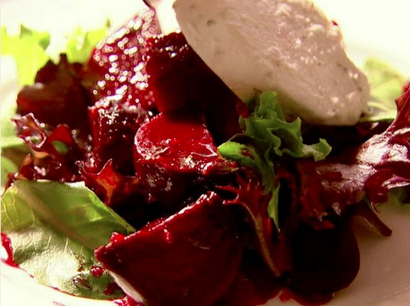 Roasted Beets With Orange And Herbed Goat Cheese Recipe ...