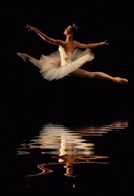 #tutu #reflection #ballerina #jump | ⊱Art & Dance | Pinterest