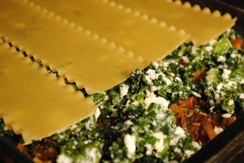 Kale Lasagna | Fifth Floor Kitchen Originals | Pinterest