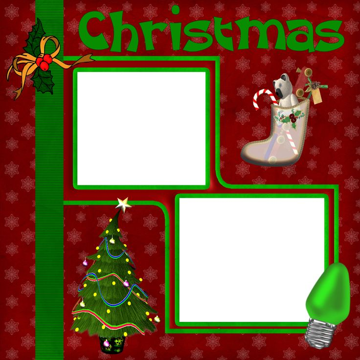 Pin by suzanne scott on christmas scrapbook layouts for Christmas layout ideas