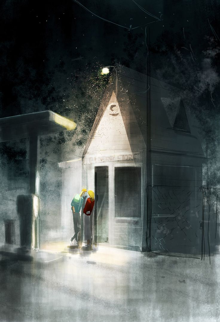Meet me at the general store. by PascalCampion.deviantart.com on @deviantART