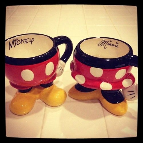 cute mickey and minnie mugs