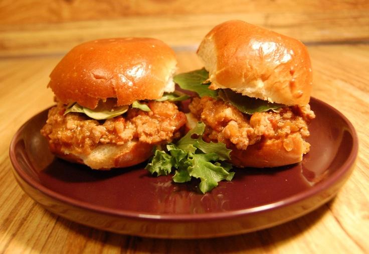 Asian Sloppy Joe Sliders with Alsace Riesling. Recipe c/o #FoodandWine ...