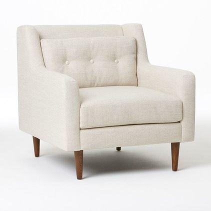 Modern Armchairs by West Elm  FURNITURE  Pinterest