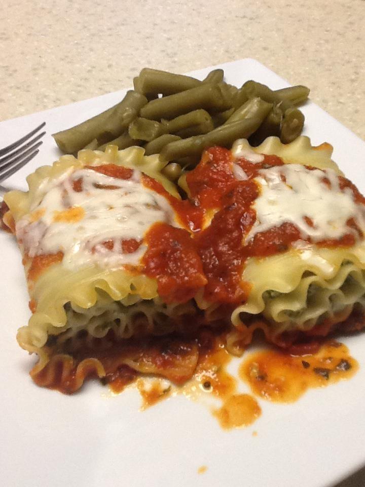 Kale & 'Shroom Lasagna Rolls