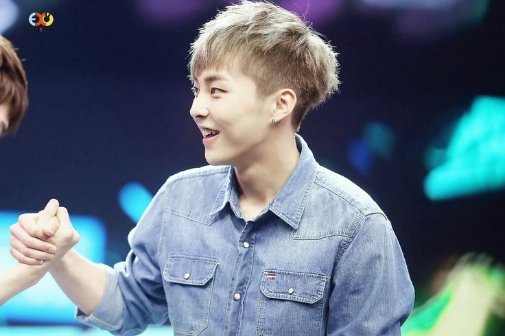 EXO  Xiumin  Kim Minseok   my cute squirrel           Xiumin Cute Happy Camp