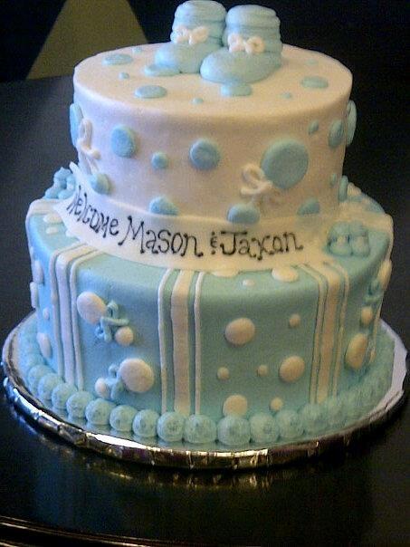 twins baby shower cake cake decorating pinterest