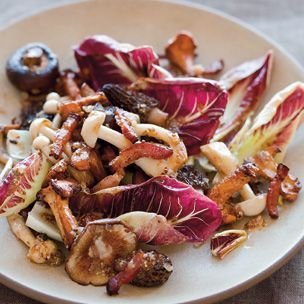 Warm Wild Mushroom Salad with Bacon Vinaigrette | Williams-Sonoma