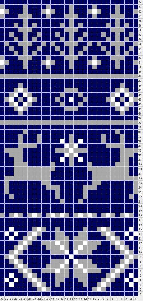 Fair Isle Scarf Pattern for Noel Knitting Fair Isle patterns - inspiration ...