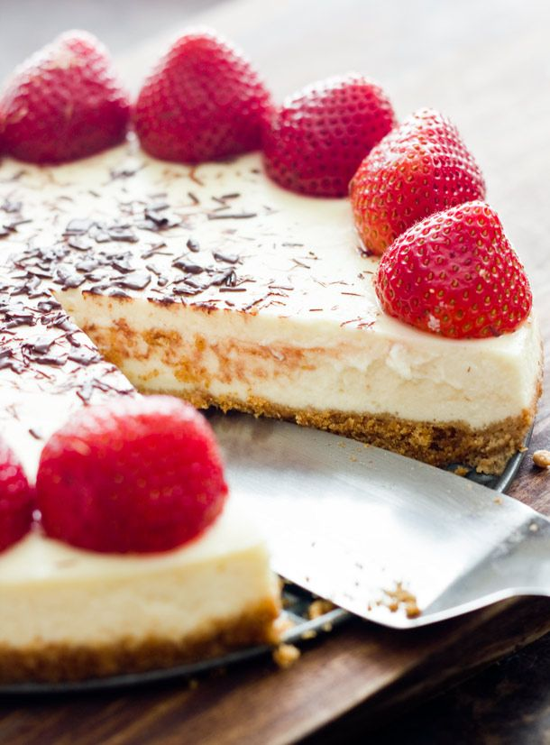 Light Cheesecake | Delicious Delectables. | Pinterest