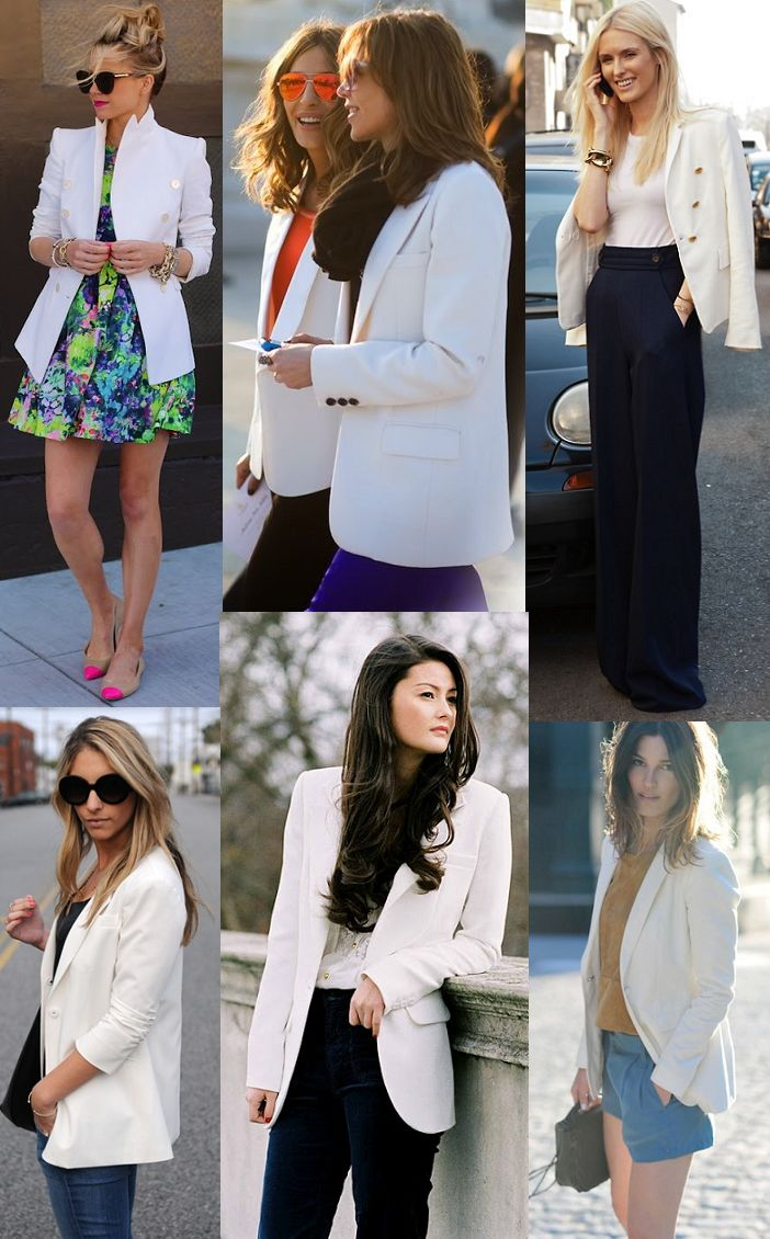 the white blazer http://www.lainthebay.com/search/label/fashion
