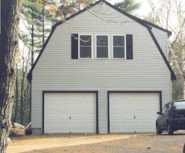 Hip roof garage with an upstairs joy studio design for Garage with upstairs