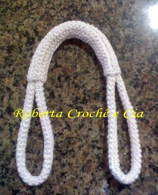 Crochet Purse Handles....step-by-step visual. ☀CQ