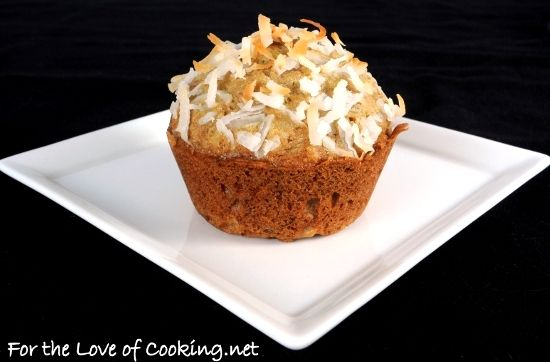 Coconut Zucchini Muffins | Recipes to Try-Breakfast | Pinterest
