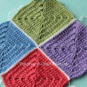 Crochet Stitches To Join Granny Squares : how to join granny Knitting & Crochet... Pinterest