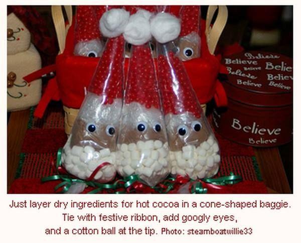 Hot cocoa christmas gift idea christmas ideas pinterest