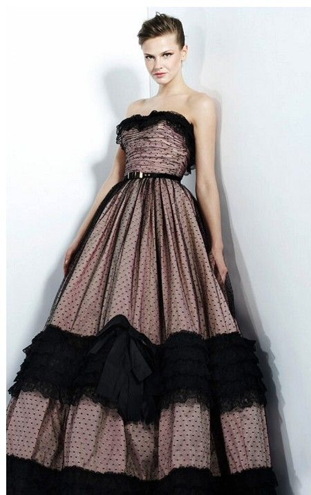 Black Wedding Dress I Do DRESSES Pinterest