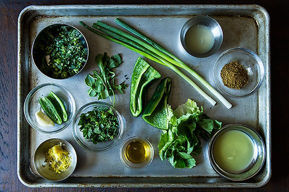 green harissa | the joy of eating | Pinterest