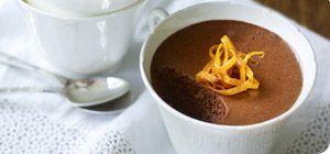 Dark chocolate, orange and cardamom mousse – Recipes – Slimming ...