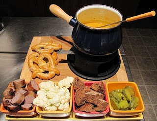 Cheddar, Beer and Bratwurst Fondue. | Stuff Jared Would Love | Pinter ...